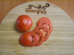 Кабачки, жареные с чесноком и помидорами - фото шаг 8