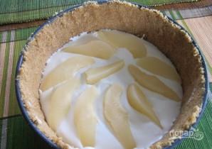 Творожное суфле с грушей и зефиром - фото шаг 4