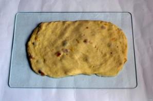 Сухари с изюмом - фото шаг 3