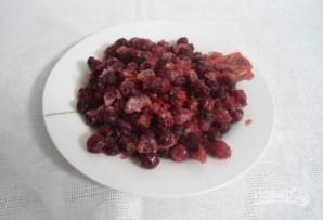Морс из вишни замороженной - фото шаг 1