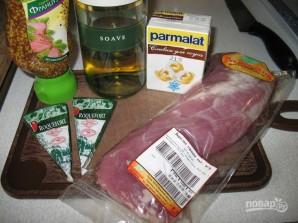 Свинина со сливками и сыром - фото шаг 1