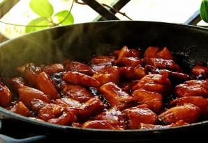 Курица терияки с овощами - фото шаг 4