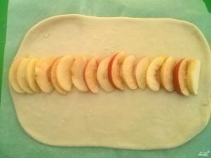 Сдобная плетенка с яблоками - фото шаг 8