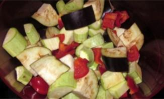 Тушеные овощи в утятнице - фото шаг 2