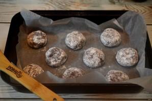 Шоколадное печенье с эспрессо и сахарной глазурью - фото шаг 7