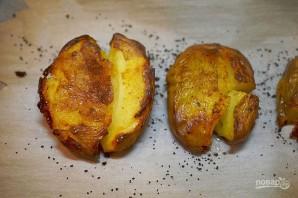 Запеченый картофель с соусом из авокадо - фото шаг 4