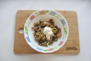 Баклажаны как грибы с майонезом - фото шаг 9