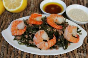 Салат из морепродуктов с морской капустой - фото шаг 5