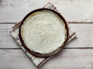 Блинный торт с творожным кремом и бананом - фото шаг 4