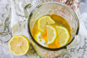 Персиковый лимонад - фото шаг 4