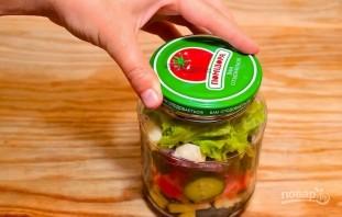 Простой рецепт греческого салата - фото шаг 3