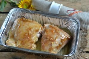Куриные бедра с горчицей в духовке - фото шаг 4