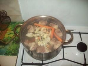Бешбармак из говядины - фото шаг 2