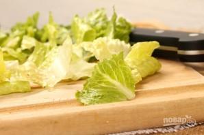 Салат с креветками - фото шаг 6