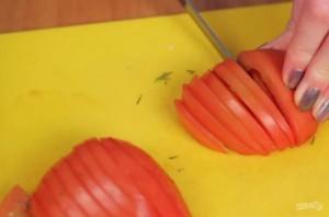 Жареный лаваш с сыром и помидорами - фото шаг 1