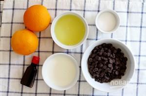 Шоколадный мусс с апельсином - фото шаг 1