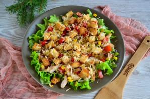 Салат с гренками - фото шаг 13
