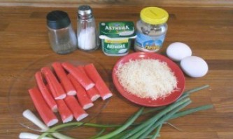 Суши с крабовыми палочками - фото шаг 1