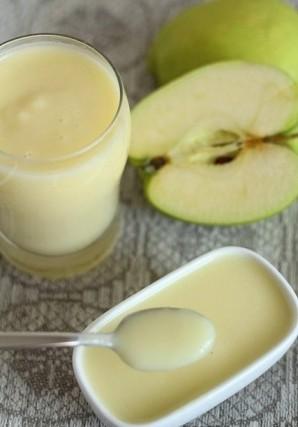 Яблочное пюре со сливками - фото шаг 6