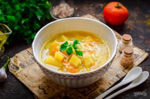 Постный суп с вермишелью - фото шаг 8