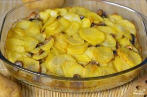 Картошка с грибами - фото шаг 10
