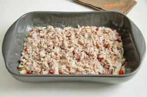 Заливной пирог с тунцом - фото шаг 10
