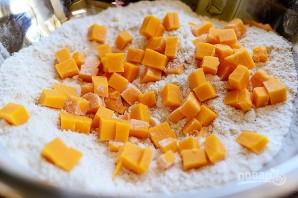 Песочные сконы с сыром и перцем - фото шаг 3