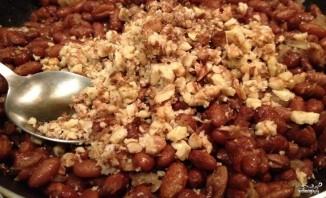 Фасоль с орехами - фото шаг 9