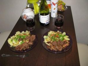 Мягкая говядина на сковороде - фото шаг 12