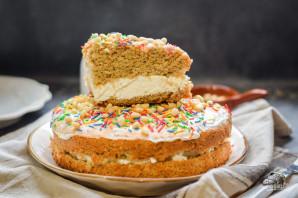 Гречневый торт с творогом - фото шаг 16