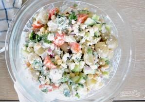 """Картофельный салат с соусом """"Тцатцики"""" - фото шаг 12"""