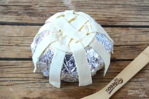 Съедобная корзинка для пасхальных яиц - фото шаг 3