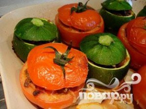 Фаршированные помидоры и кабачки - фото шаг 10