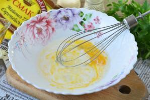 Крабовый салат с омлетом - фото шаг 3