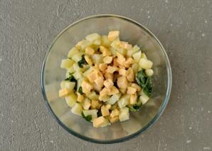 Слойки с картошкой - фото шаг 4