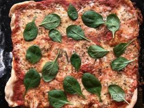 Потрясающая итальянская пицца с моцареллой - фото шаг 12