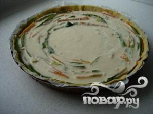 Овощной пирог - фото шаг 11