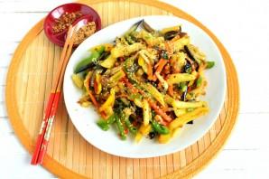 Картофель, жареный с овощами по-азиатски - фото шаг 5