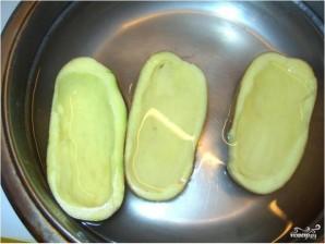 Картофельные лодочки с грибами - фото шаг 1