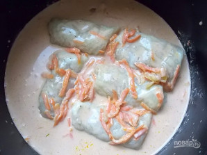 Голубцы в томатно-сметанном соусе - фото шаг 11