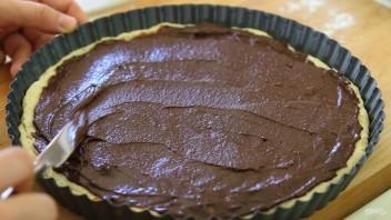 Пирог с нутеллой - фото шаг 5