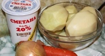 Картофельное пюре с морковью - фото шаг 1
