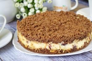 Творожный торфяной пирог с черносливом - фото шаг 7