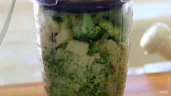 Запечённое пюре из картофеля и брокколи - фото шаг 4