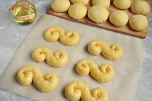 Золотые булочки - фото шаг 8