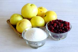Варенье из клюквы и яблок - фото шаг 1