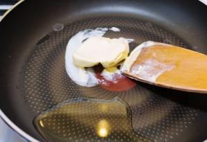 Сливочно-чесночный соус с грибами - фото шаг 1
