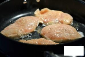 Курица с нутом и цукини - фото шаг 2