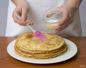 Блины (классический рецепт на кефире) - фото шаг 11