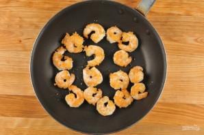 Лингвини с помидорами и креветками - фото шаг 4